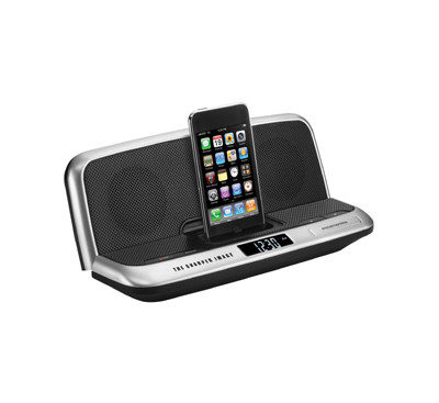 50% off Sharper Image iPhone/iPod Docking Stations