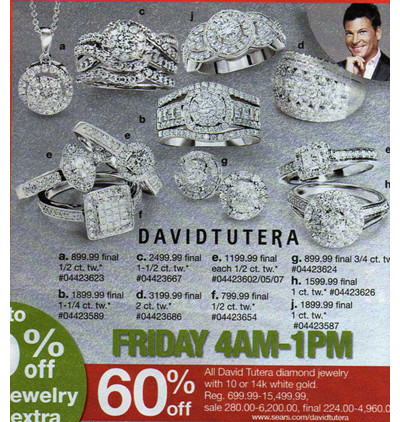 David Tutera 1 1/4-Ct. TW Certified Diamond 14K White Gold Bridal Set
