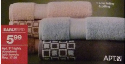 Apt. 9 Highly Absorbent Bath Towels