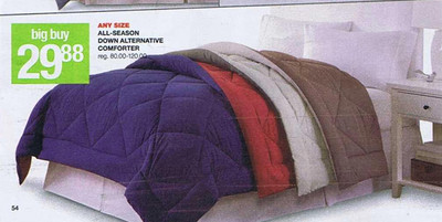 Any Size All-Seasons Down Alternative Comforter