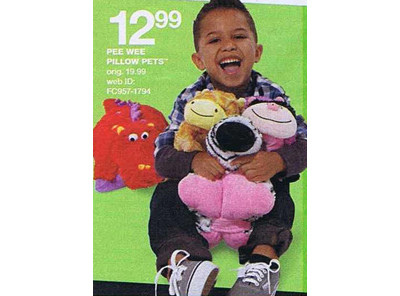 Pee Wee Pillow Pets (Assorted Styles)