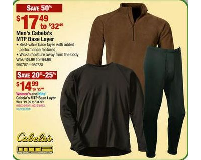 Cabela's MTP Polar Weight Crew Regular