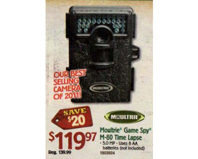 Moultrie Game Spy M-80 Mini 5.0 Megapixel Digital Game Camera