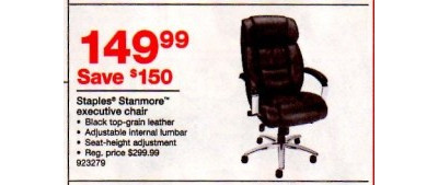 Staples Stanmore Executive Chair