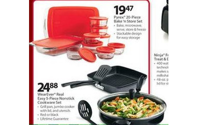 WearEver Real Easy 5-pc Nonstick Cookware Set