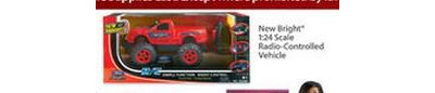 New Bright 1:24 Scale Radio-Controlled Vehicle