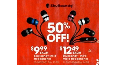 Skullcandy Ink'd Headphones