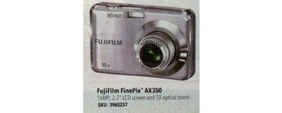 FUJIFILM - FinePix AX350 16.0-Megapixel Digital Camera