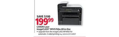 Canon MF4570dw Wireless, Network-Ready Printer