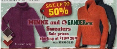 Select Minne Women's Sweaters  $19.99-26.49