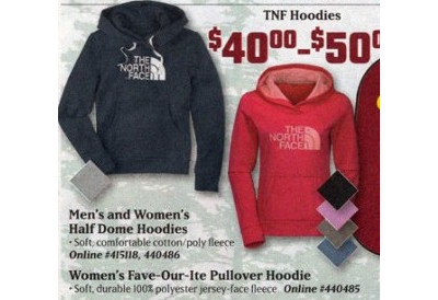 The North Face Women's Half Dome Hoodie   $40-50