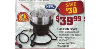 Masterbuilt Gas Fish Fryer