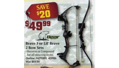 Bear Brave III Bow Sets