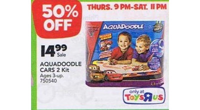 Aquadoodle Cars 2 Kit