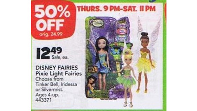 Disney Fairies Pixie Light Fairies