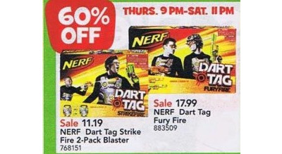 Nerf Dart Tag Fury Fire