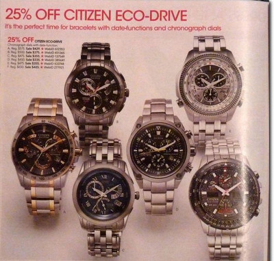 Citizen Watch, Men's Chronograph Eco Drive Two Tone Stainless Steel Bracelet AT4004-52E