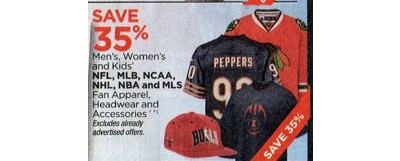 Entire Stock Of Women's NBA Fan Apparel - 35% Off