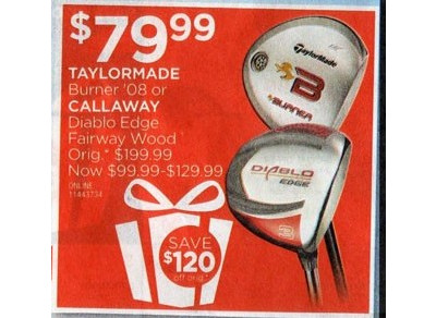 Callaway Diablo Edge Fairway Wood - $99.99-$129.99
