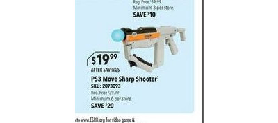 Sony - PlayStation Move Sharp Shooter for PlayStation 3