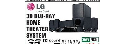 LG LHB306 Network 3D Blu-ray Home Theater System