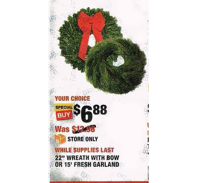 Fresh 15-in. Garland