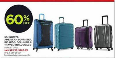 60% off Selected Samsonite 14d444ba90df6