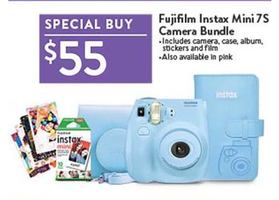 Fujifilm Instax Mini 7s Camera Bundle Walmart