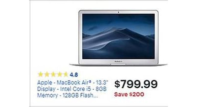 Apple Macbook Air 13 3 W I5 8gb 128gb Best Buy