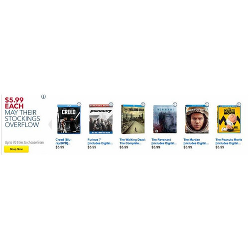 $5.99 Movies (Assorted)