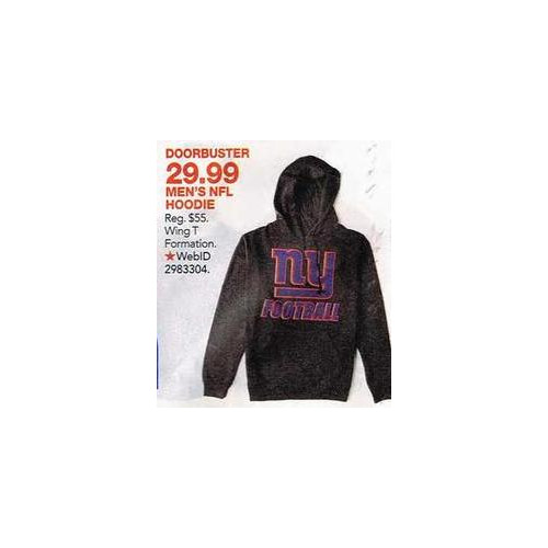 Select Locker Room by Lids NFL Wing T Formation Hoodie