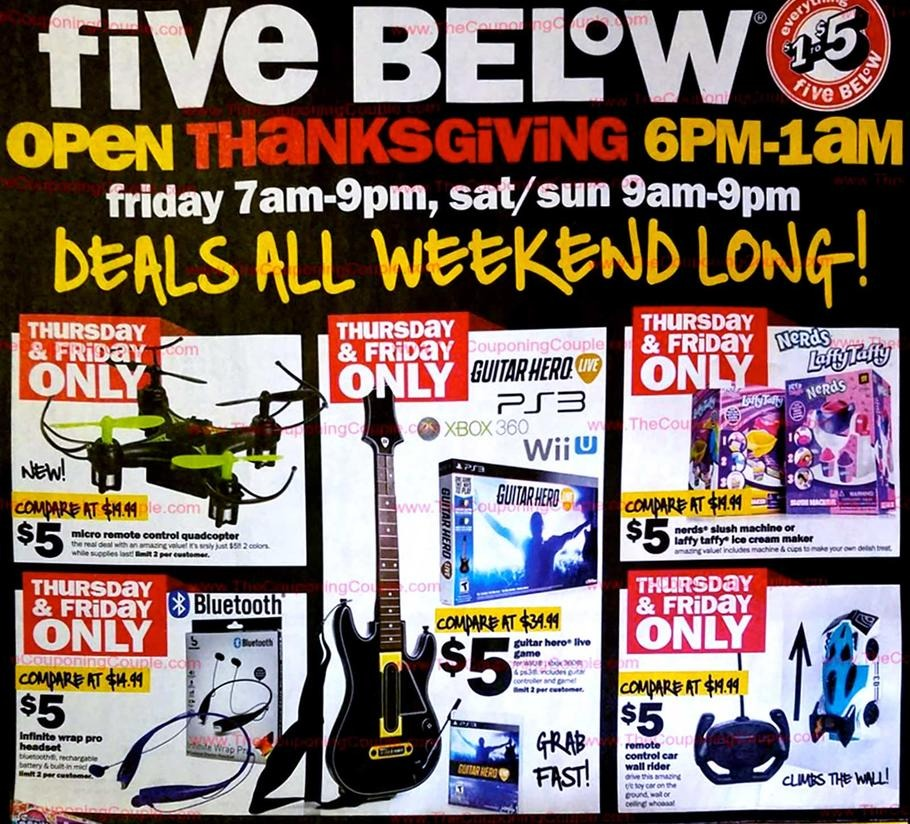 Five Below Black Friday 2018 Ads and Deals