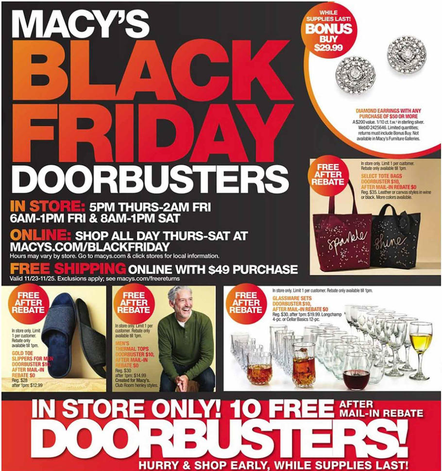 Macys Black Friday Ad Scan 2018