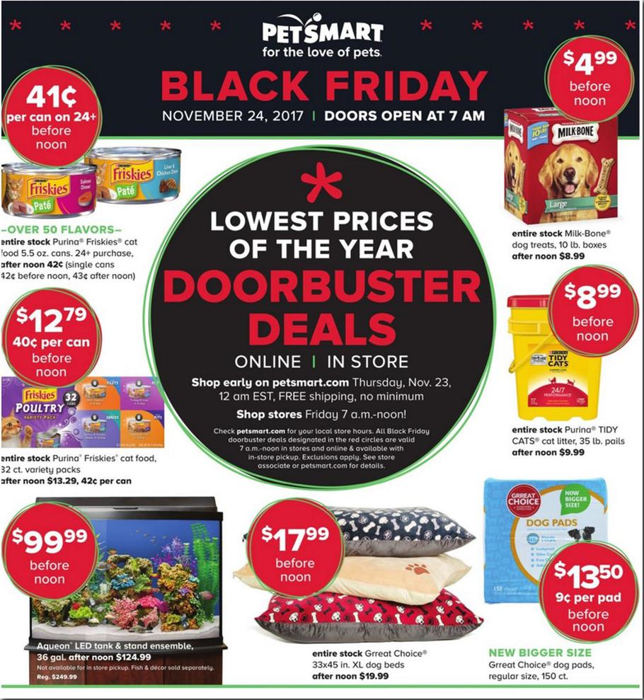 PetSmart Black Friday 2018 Ads and Deals