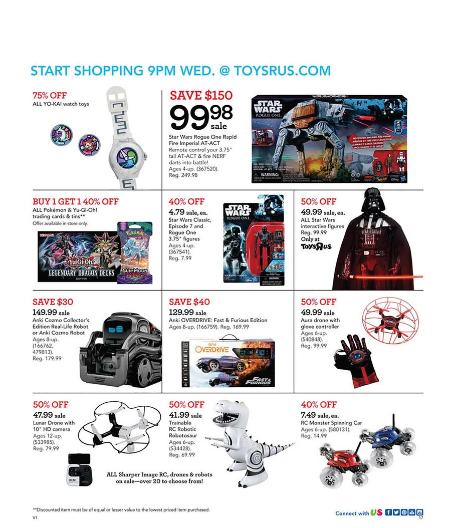 Toys R Us Black Friday Ad Scan 2018