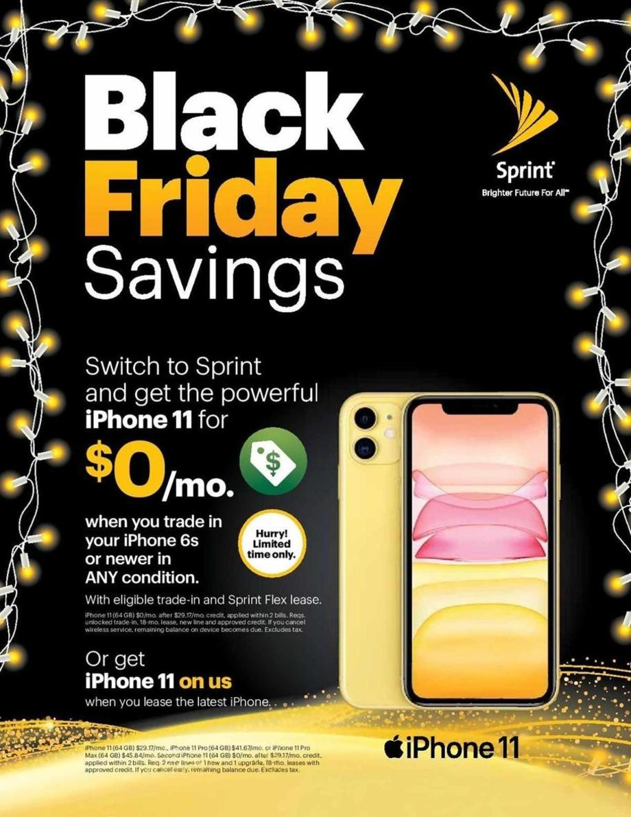 Sprint Black Friday Deals Sales And 2020 Ad Dealsplus