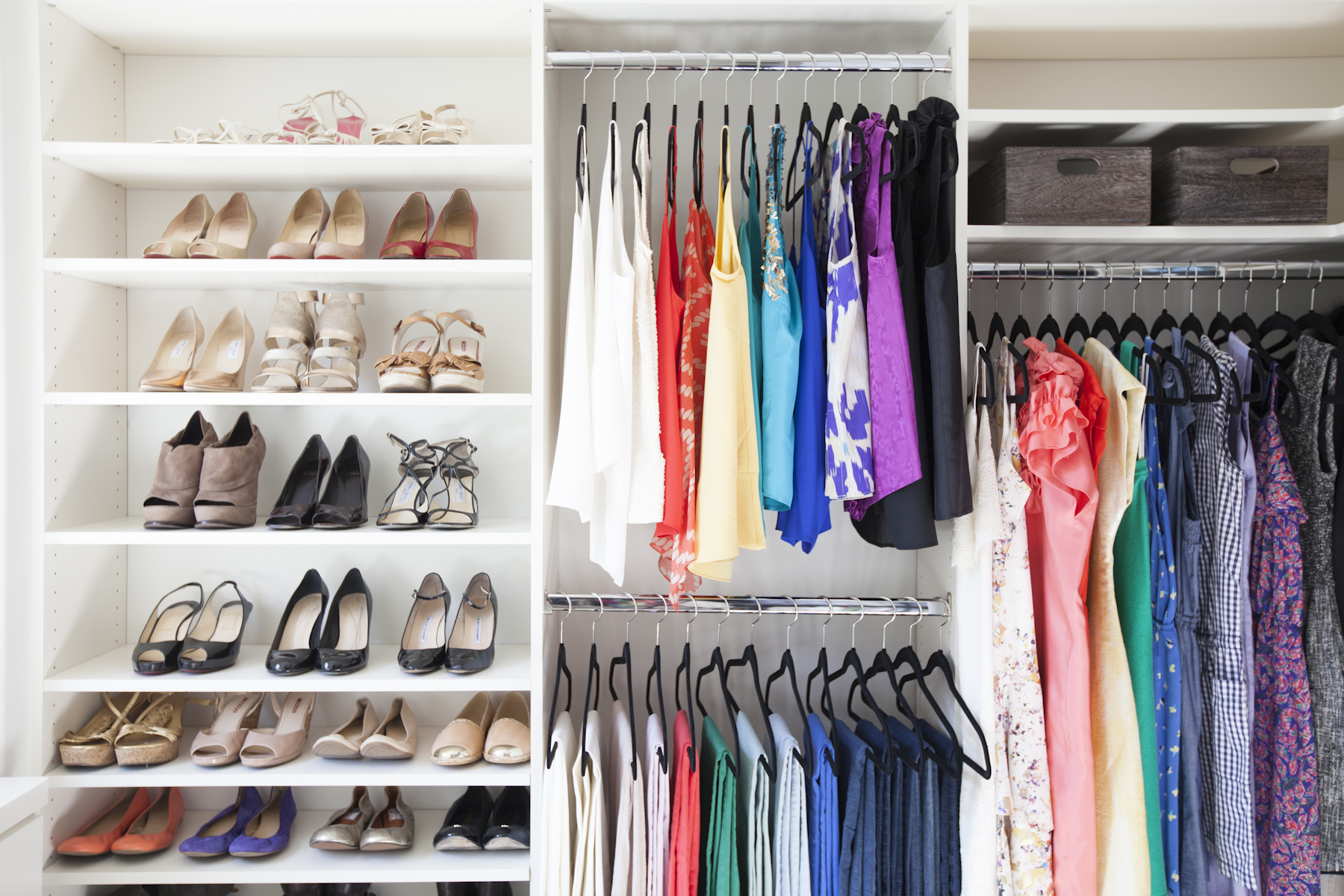 The First Trick To Having An Organized Closet Space Is Downsizing Your  Wardrobe. Take Inventory Of Your Closet, And If You Donu0027t Love An Item, ...