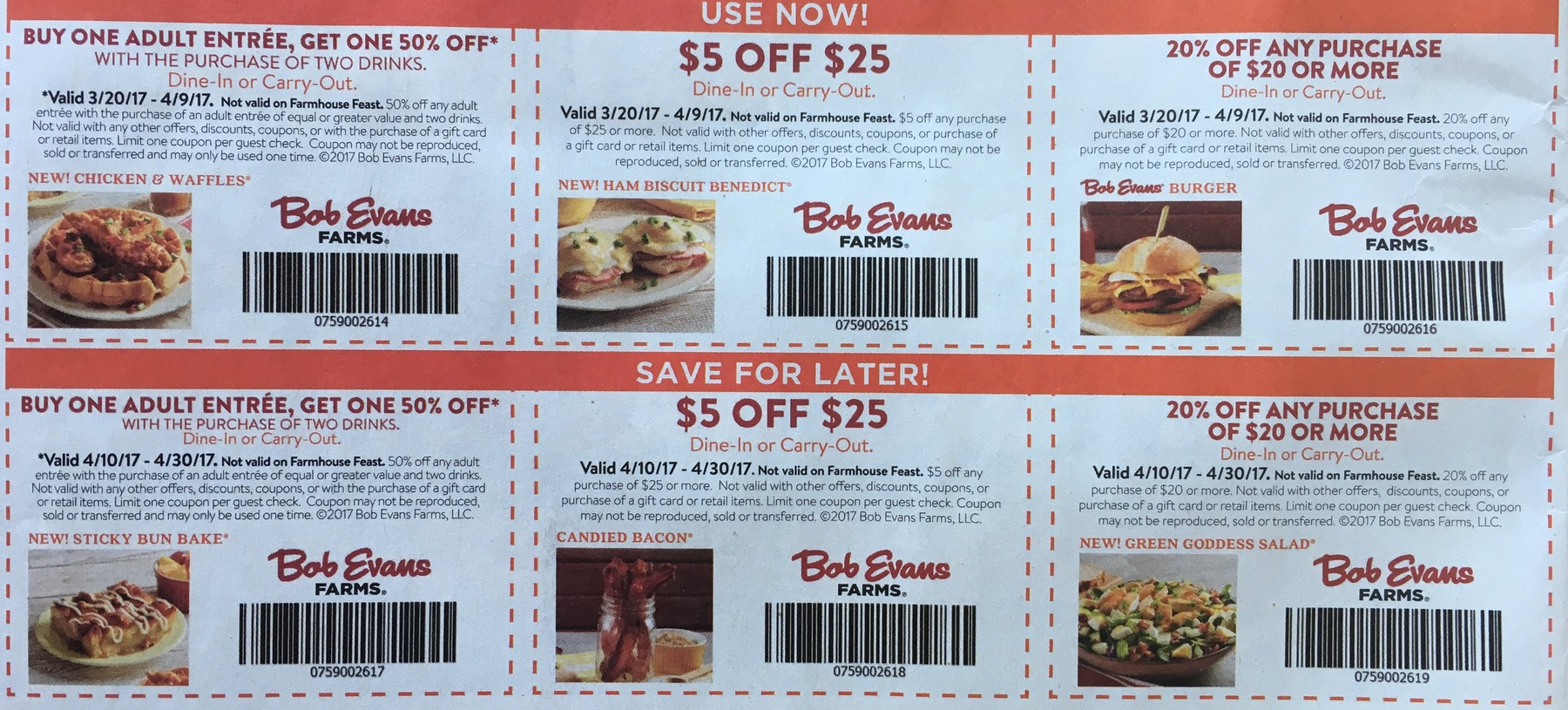 Coupons sales