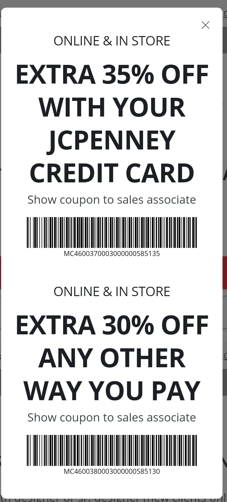 JCPenney Coupon: Extra 30-35% Off Fine Jewelry